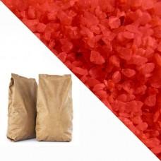 Красная кварцевая крошка RAL2002 (vermillion) 25кг