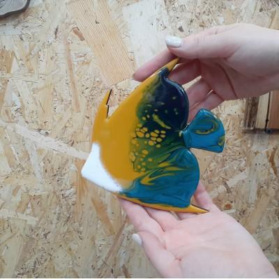 Заливка арт-бордов в технике Resin Art. Мастер-класс. Индивидуальное обучение