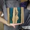 Часы из эпоксидной смолы и дерева (Двухдневный Мастер-Класс)
