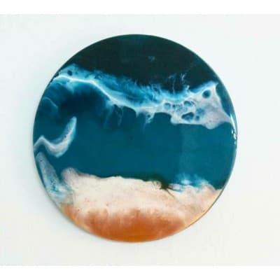 Картины в технике Resin Art из эпоксидной смолы. Мастер-класс. 13 декабря, СПБ.