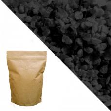 Чёрный кварцевый песок RAL 9005 (Jet Black) 5кг