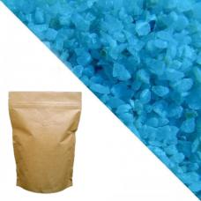 Синий кварцевый песок RAL5015 (sky blue) 5кг