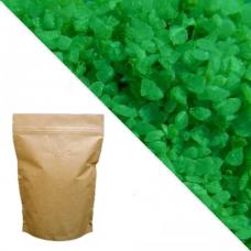 Зелёный кварцевый песок RAL6037 (pure green) 5кг