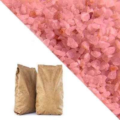 Розовая кварцевая крошка RAL3014 (antique pink) 25кг