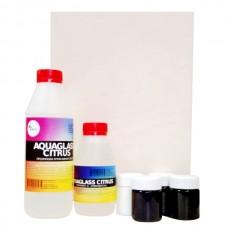Набор для Resin Art 4 цвета, прямоугольный борд