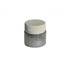 Глиттер серебро 10 гр