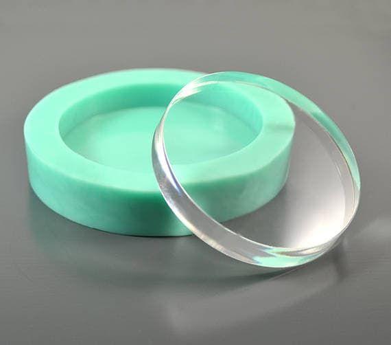 Круглый силиконовый молд